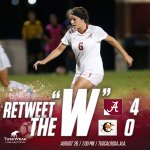 Roll Tide!! @AlabamaSoccer had an AMAZING game against Campbell tonight with a four-nothing win!! https://t.co/h7AtLC7JiW