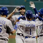 #Royals win...again! Eric Hosmers three-run homer in the first inning led the way. https://t.co/LVWNnS6f1g