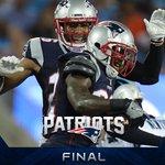 #Patriots win 19-17! #NEvsCAR https://t.co/RbOgjJnorR