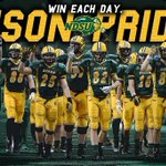 Tomorrows program schedule for ESPN, 6:30 - 10pm CT...  BISON PRIDE.  #GoldRush #HornsUp #BisonFamily https://t.co/cK1SIIsPCe
