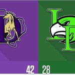 FINAL: Denton 42, Lake Dallas 28  Box score: https://t.co/doLPfpq36m #txhsfb https://t.co/73On7qpMvA