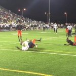 Tough to tell from this angle if St Thomas Aquinas scored on debated late play. Congrats to Booker T. Huge win. https://t.co/QWefUTry8e