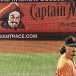 omg you guys whatever the person handling @CaptainMorganUSs advertising is getting paid its not enough. #SFGiants https://t.co/jQtlkvRa23