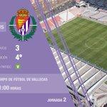 [Previa] El #Pucela afronta en Vallecas su primera salida de la Liga (domingo, 21 horas) https://t.co/b0KceEkOPu https://t.co/cm6IbUdB33