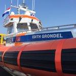 Wij feliciteren KNRM Katwijk met de nieuwe reddingsboot, de Edith Grondel. https://t.co/kB2sTuRSkx