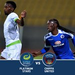 Platinum Stars and Chippa United face-off in the #MTN8 for the first time today. Who will get the win? #SSDiski https://t.co/3wD1AyNer1