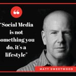 A great quote from #beBee USA CEO @MSweetwood. #SocialMedia #beBee https://t.co/H2wXttRksJ https://t.co/Szqz4UYX3D