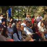 Nuestros compañeros en el acto de inicio del curso politico en Cotobade acompañando a @FeijooGalicia y @marianorajoy https://t.co/M641VwPC0M