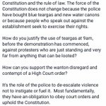 Zimbabwe is a constitutional democracy not a police state #thisflag https://t.co/Phtb3skyZX