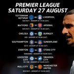 There is no shortage of #PL fun today with SuperSport showing SEVEN games LIVE. Give us your predictions. https://t.co/p2yDdzY9Yc