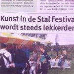 Mooie kop in Leids Nieuwsblad over ons festival. #Leiden #streekmarkt https://t.co/YuxYvhKKfO