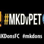MATCHDAY! #mkdons entertain rivals @theposhofficial at Stadium MK this afternoon - KO 3pm. #COYD #MKDvPET https://t.co/S4DLzgpFrc