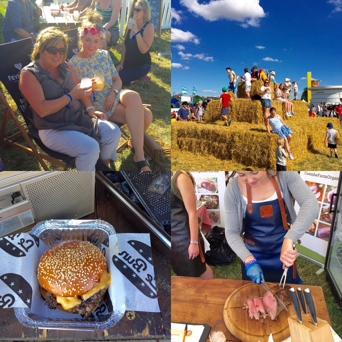RT @thebigfeastival: Who is excited for day two? We can't wait to get stuck into some great grub and summer tunes ???? #TheBigFeastival https:…
