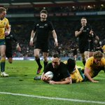 #RugbyChamps - HT: New Zealand 15-9 Australia Two tries give the All Blacks the lead at the break. #NZLvAUS https://t.co/PwixkO8nHS