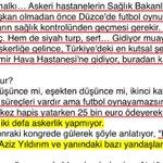 """Erman Toroğludan Aziz Yıldırıma final sorusu:""""Kalça çıkığından rapor alıp kutsal görevi yapmıyorsun,futbol oynadın https://t.co/m8nQvi8tUD"""