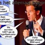 #Rutte wie gelooft er nog in die man werken tot je 67 en maar korten op de ouderen zorg. ( stem geen #VVD ) https://t.co/hbj9XFm1jT