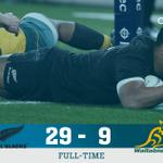 FULL-TIME Polished All Blacks retain #BledisloeCup https://t.co/GDeBuIigk0 #NZLvAUS https://t.co/8kpMS3DvjM
