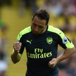 📸 Santi Cazorla bags his first #PL goal of the season to put Arsenal 1-0 up at Vicarage Road #WATARS https://t.co/Sh5nqgPKo1