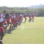 Buenos días #FamiliaJuniorista a está hora Junior realiza su último entrenamiento antes de enfrentar a Jaguares FC https://t.co/gOTxy8hiNb