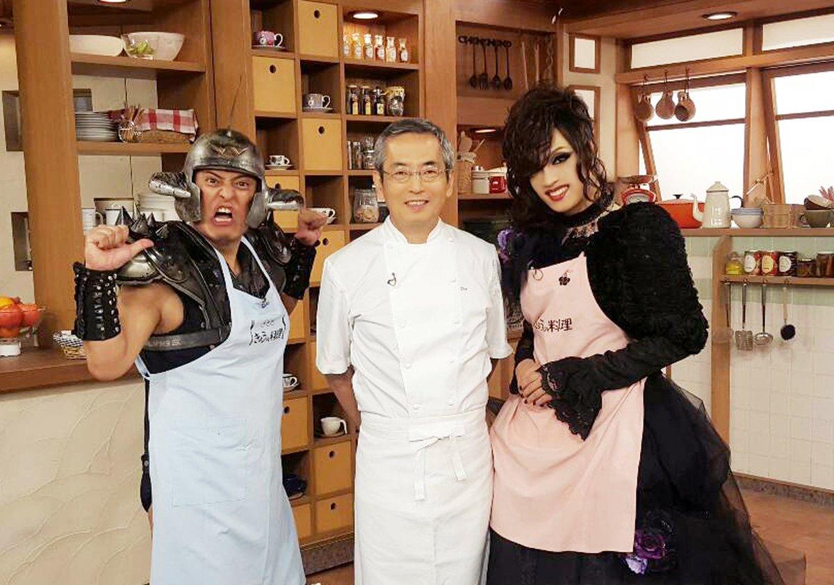 Kaya三度目の「バナナ♪ゼロミュージック」は『きょうの料理』とコラボレーション!ということで土井善晴先生( @doiyoshiharu )と、THE冠さん( @thekanmuri )とご一緒でした♡ #バナナゼロミュージック https://t.co/sXWqKYqBq0