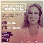 Vc realmente quer mudar Goiânia?Sua participação na mudança começa muito antes das urnas!👩🏼1️⃣3️⃣⭐️#AdrianaPrefeita https://t.co/BcTV2kfiUR