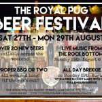 Celebrate the #BankHoliday with @theroyalpugleams Beer Festival! #loveleam #leamevent https://t.co/rbNBzePBc9