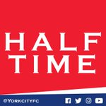 Half time: York City 4-1 Woking. A dominate first half by City with goals from Brodie, Klukowski, Wright & Connolly. https://t.co/BIyGCj5nPW
