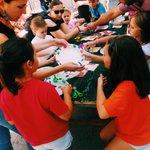 Actividades infantiles en la plaza de Lugo todo el día #romeriadesantamargarita #coruña https://t.co/krseIA9zCO