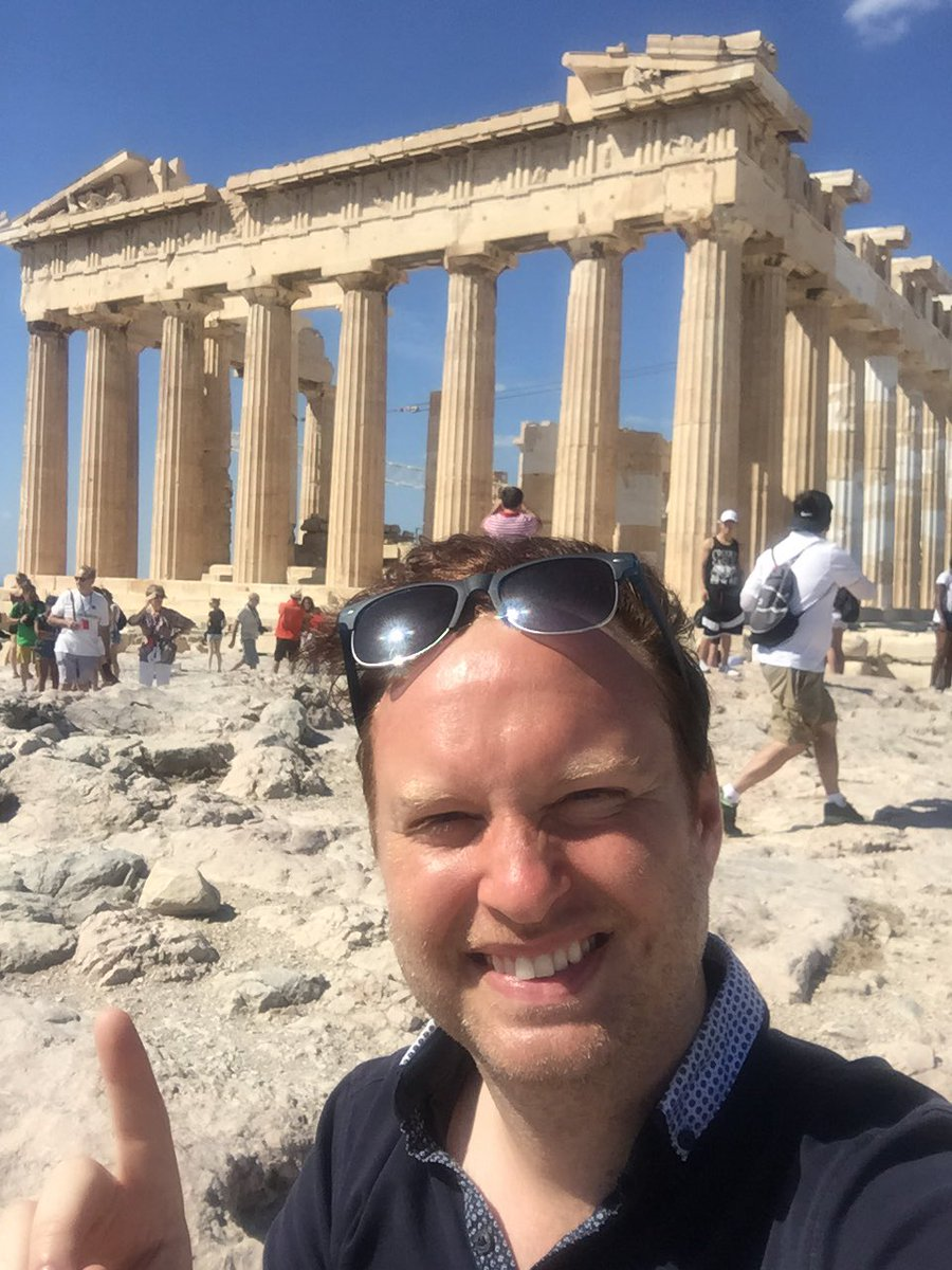 #acropolis #parthenon #hashtagoverload #bucketlist haha! Very excited to have finally made it here!!!! https://t.co/dEtYAUXaSj