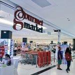 """เดอะมอลล์เริ่มเปลี่ยนซุปเปอร์จาก Home Fresh Mart เป็น """"Gourmet Market""""แล้ว เริ่มสาขาแรกบางกะปิ ต่อไปโคราช https://t.co/R5zwzR66et"""