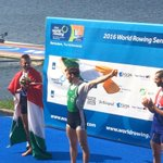 @PaulO_Donovan winning Gold. @WorldRowing #rowing2016 @sportireland #greenblades https://t.co/mfLn6Xs2tb
