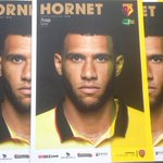 PROGRAMME 1/2: #watfordfcs Etienne Capoue is the cover star and main feature article for todays Arsenal game. https://t.co/0zOUjG9L4e