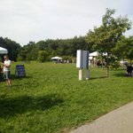 Wonders of Nature Festival at Huron Natural Area today. Crowds pouring in. Free!! @CityKitchener @gallowaykelly https://t.co/AJq7eW89bi