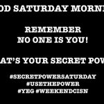"""Welcome to a """"Secret Power"""" Saturday Aug 27th 2016 CISNers. @Randy_Marshall on @CISNCountry 6-8am. #Yeg #WeekendCISN https://t.co/ZjWeF8o8PT"""