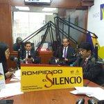 Nuestros líderes en norte y sur del país por @radiontperu promueven a participar de la campaña #RompiendoElSilencio https://t.co/khE5o2uPmK