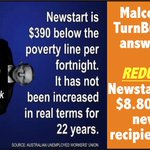 Newstart is $390 a fortnight below the poverty line! Malcolm TurnBulls fix? REDUCE IT BY $8.80!!! #auspol #Insiders https://t.co/0Kx1HinbhR