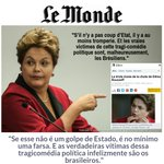 Le Monde escracha o golpe em editorial! https://t.co/94oXo4gC8d