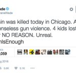 Dwyane Wades cousin was tragically shot and killed in Chicago. https://t.co/kFLc7UQXjt https://t.co/RLGQlTheGR