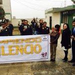 #RompiendoElSilencio en la comisiría de Huaycan se compartió el mensaje con la PNP. #APCE https://t.co/14LENTREUT