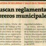 Buscan reglamentar obreros municipales. Vía @Peru21pe https://t.co/zGSjktdZoD
