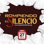 Llegó el día central de la campaña #RompiendoElSilencio, comparta fotos y vídeos de las acciones usando el Hashtag. https://t.co/BsmGX2qLao