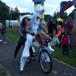 That time when a unicorn was on a @Belfastbikes. Must be #Mela tomorrow! @ArtsEkta https://t.co/fVRdc0R9pq