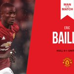 Hes done it again - congratulations to #MUFCs Man of the Match, @EricBailly24! https://t.co/k5Gvq8K3Jh