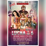 #Toronto - tickets are still available for tonights Lucha Libre event. https://t.co/dzTzSxaOs5