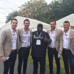 Welcome everyone whos added coming up soon .... These boys #solihullsummerfest #solihull #backstage https://t.co/ornqwmIwAp