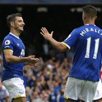 FULL-TIME Everton 1-0 Stoke. Shay Givens own goal from Leighton Baines penalty settles the match #EVESTK https://t.co/LvKXxRUjrx