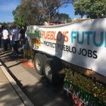 The Pueblo State Fair parade is getting political with a float from @GrowPueblo. Story tonight on @KRDONC13 https://t.co/G52QVkW0i6