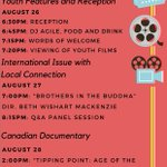 """2night at #Justice4Reel @themetrocinema w/ an intl. focus """"Brothers in the Buddha"""" followed by a Q&A session. #yeg https://t.co/QRJCjYjbWY"""