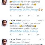 Medalla de oro para @Galo_Chiriboga     🏅en tuiteo sicronizado. (nivel trollcenter) 🗞 diploma en farsa (*somos ➕) https://t.co/TO1UscxSei