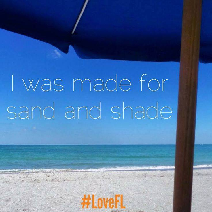 Who else was made for #sand and #shade? |Photo via @VISITFLORIDA https://t.co/MuxJzfLVB8